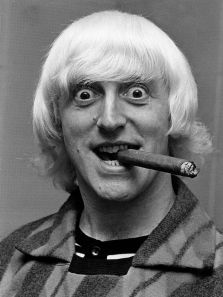 Ok, they don't all look THIS crazy.... but this is an example of predatory stare!! Jimmy Saville - definately a Sociopath who hid behind his celebrity status to abuse.