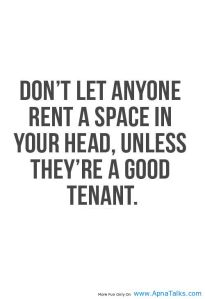 rent space in your head