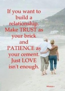How to build trust in relationship again