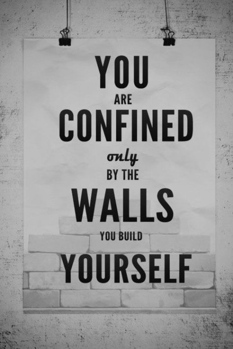 confined walls build yourself